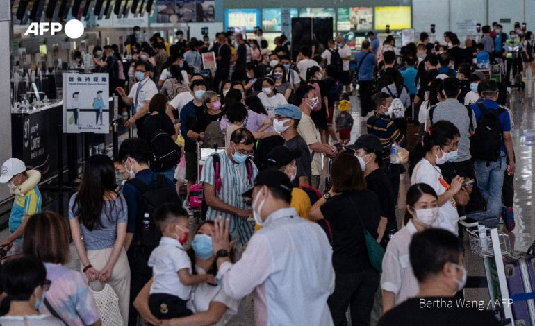 Les départs depuis Hong Kong vers Londres ne faiblissent pas