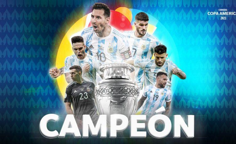 L'Argentine de Lionel Messi remporte la Copa America face au Brésil 1-0