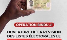 La révision exceptionnelle des listes électorales va se dérouler du 31 juillet 2021 au 14 septembre 2021