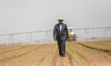 Macky SALL a inauguré le domaine agricole communautaire de Keur Momar Sarr (Louga)