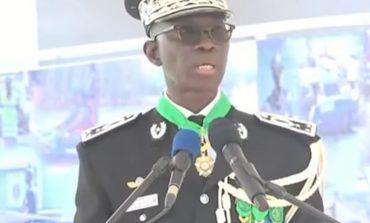 Mon ambition est de bâtir une Gendarmerie professionnelle, ancrée dans les valeurs au cœur des institutions républicaines'', déclare Moussa Fall