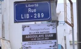 La commune Sicap-Liberté honore Abdoulaye Diaw avec une rue à son nom