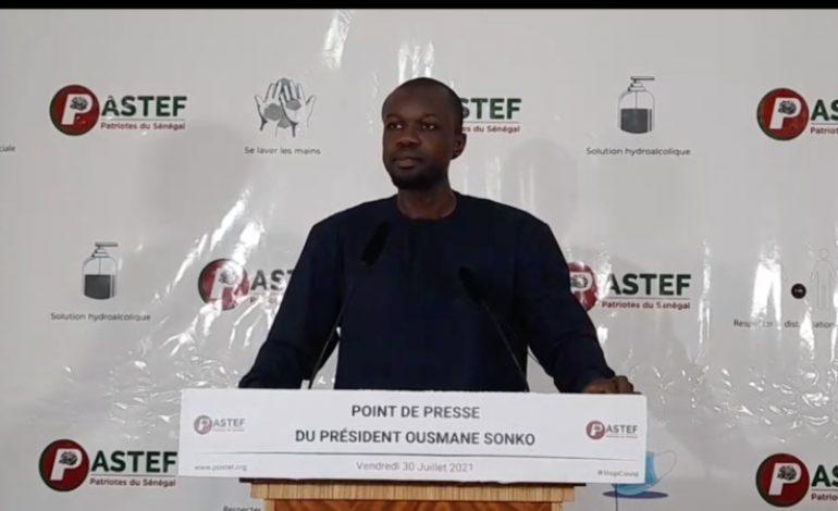 Quand Ousmane Sonko dribble la presse !