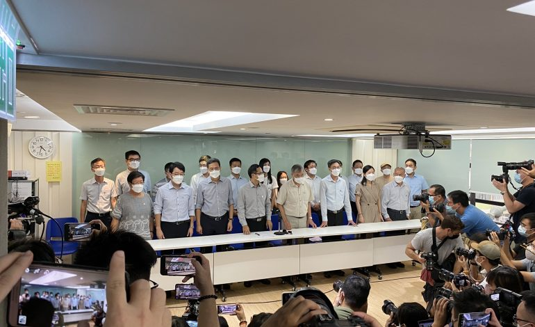 Le Syndicat des Enseignants Professionnels (PTU) hongkongais s'auto-dissout à cause de la «forte pression» des autorités