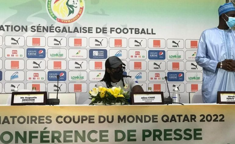 Aliou Cissé dévoile une liste de 25 joueurs retenus pour le match contre le Togo et le Congo