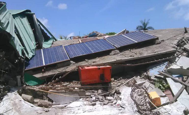 Le bilan du séisme s'alourdit à 2189 morts et plus de 12.000 blessés