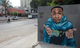 Notre compatriote TikiToker, Khaby Lam est devenu une œuvre d'art de rue à Gaza