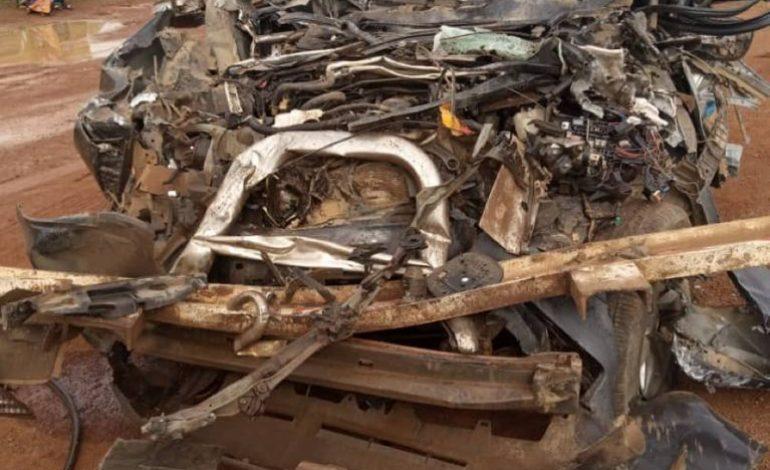 Moustapha Guirassy et son chauffeur victimes d'un grave accident de la circulation