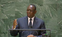 Macky Sall regrette l'élargissement de la fracture vaccinale entre les pays du Nord et du Sud