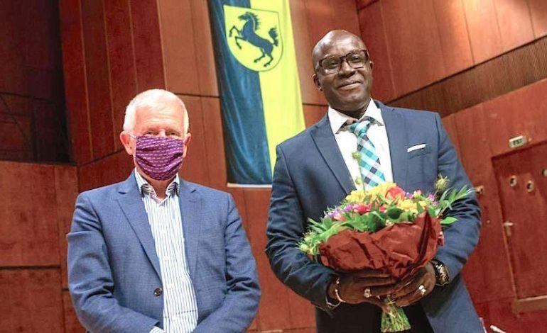 Saliou Guèye, élu maire de Stuttgart-Zuffenhausen