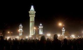 Foules de fidèles soufies à Touba pour le pèlerinage annuel du Magal