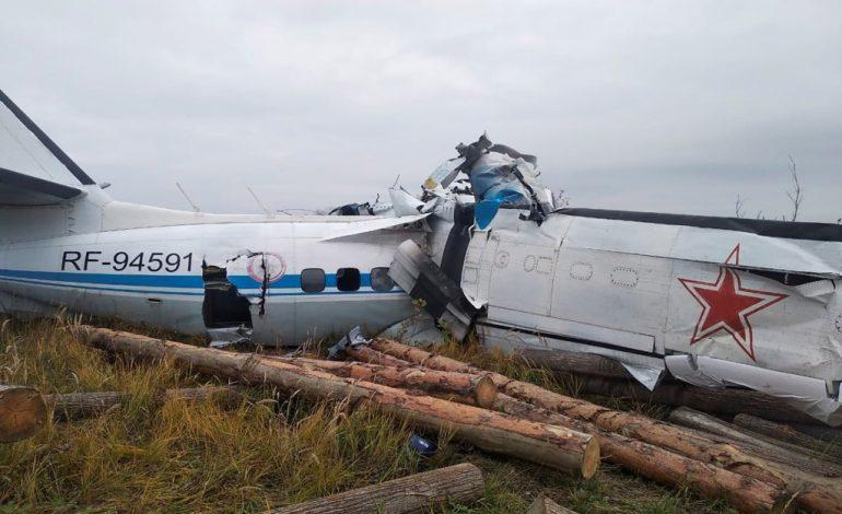 Seize personnes tuées dans le crash d'un avion transportant des parachutistes civils à Tatarstan