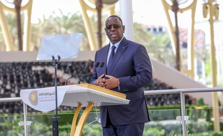 «Les peuples ont besoin d'apprendre à vivre ensemble» déclare Macky SALL à Dubaï Expo2020