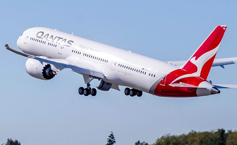 Le record du vol commercial le plus long battu par Qantas entre Buenos Aires et Darwin